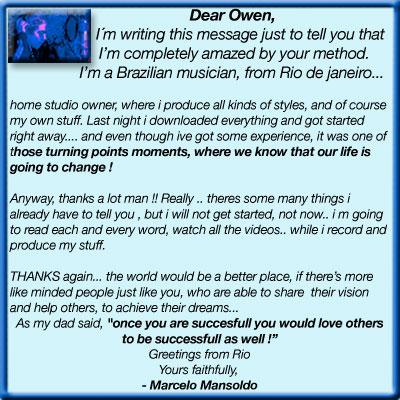 owen critchley recording book