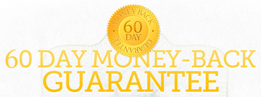Easy Home Recording Blueprint Method comes with a full 60 Day Money Back Guarantee