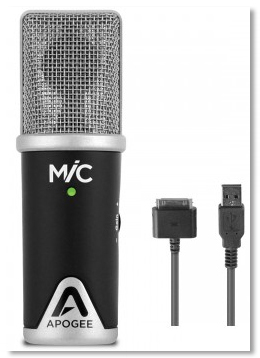 Apogee Mic with connectors