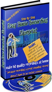 Easy Home Recording Blueprint Premium Edition with embedded audio