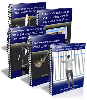Free home recording blueprint reports